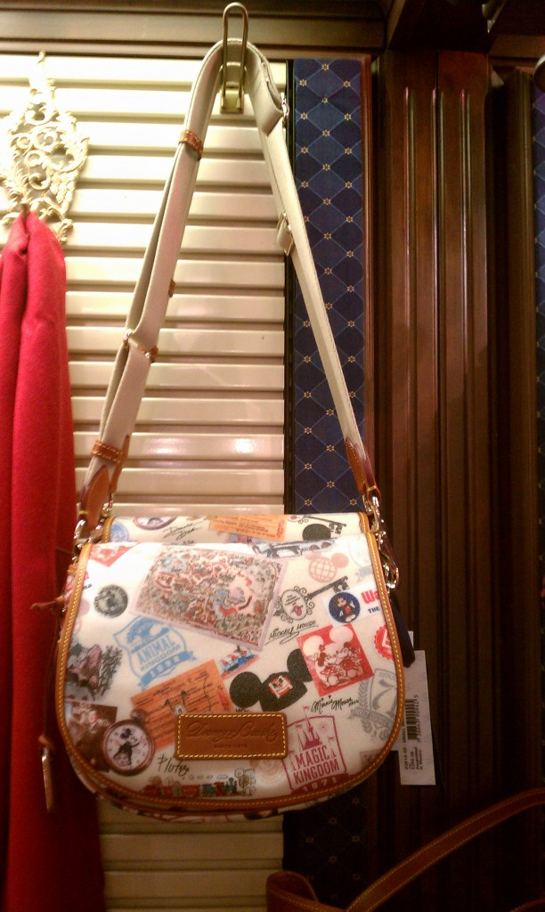 WDW 49th Anniversary Dooney & Bourke small messenger bag