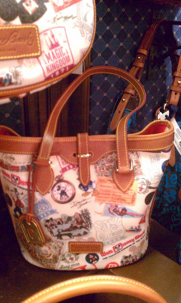 WDW 40th Anniversary Dooney & Bourke small bucket bag