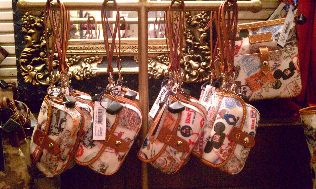 WDW 49th Anniversary Dooney & Bourke wristlets