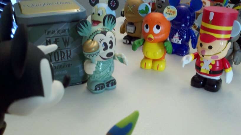 VIDEO: What Do Vinylmations Do When You're Not There?