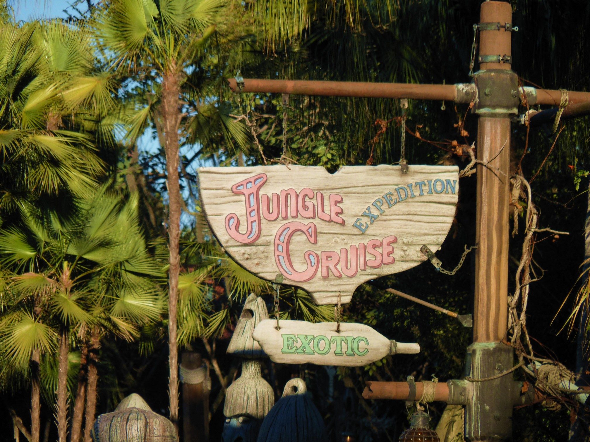 Jud's Disney Picture of the Day: SIGN OF ADVENTURE