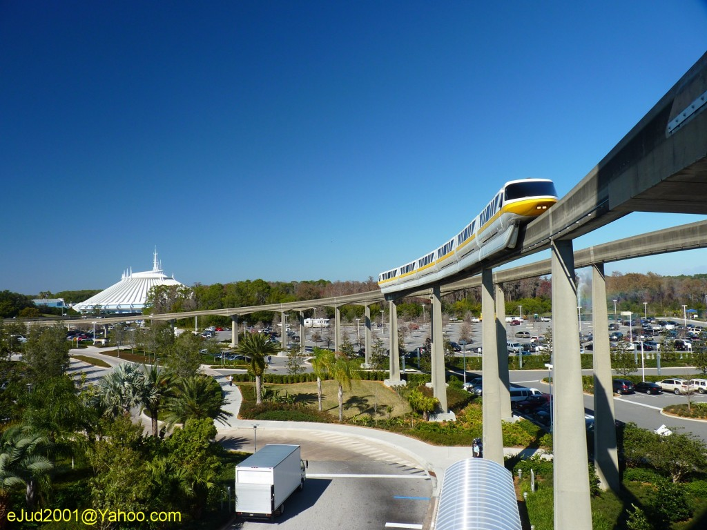 Monorail and Space Mountain