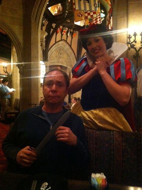 Teller at Disney World