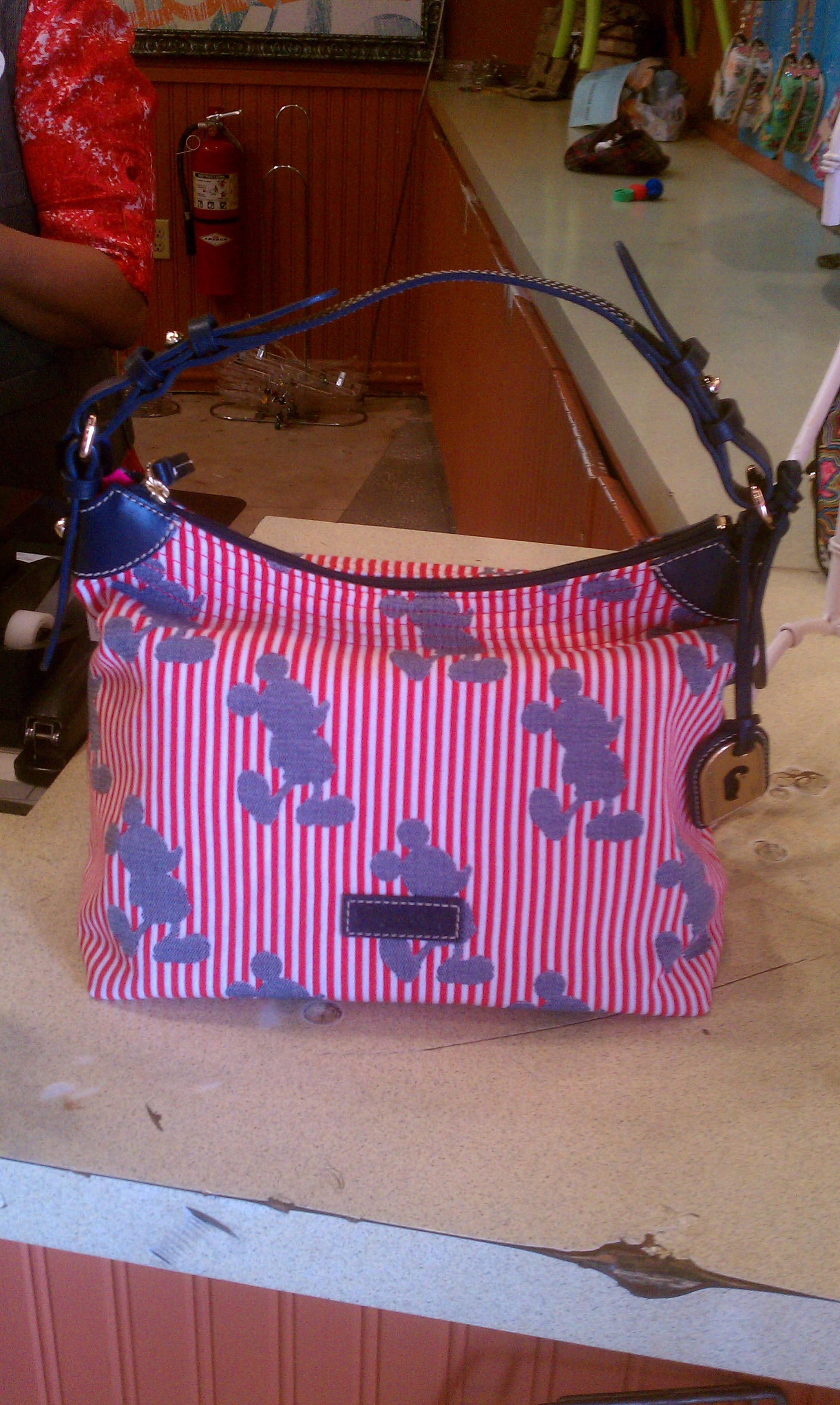 NEW Disney Dooney & Bourke Stripes Designs!