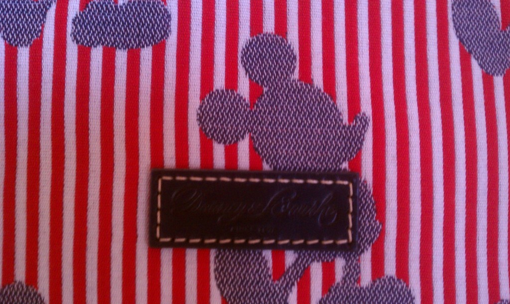 Disney Dooney Stripes Red