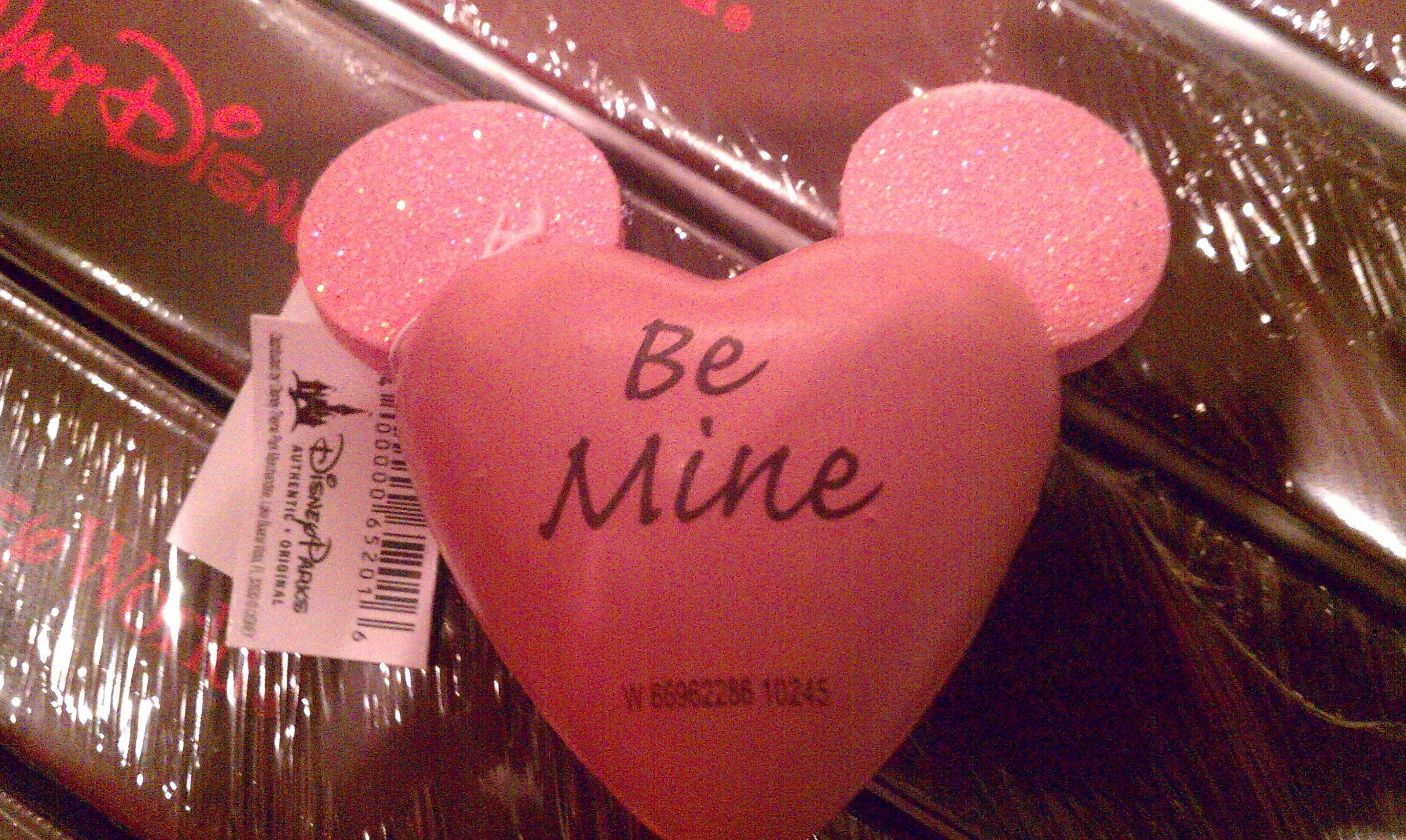 NEW Valentine's Day Mickey Antenna Topper
