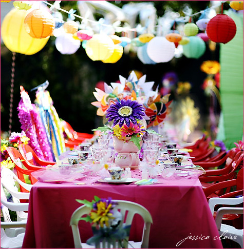 Amazingly magical disney themed birthday party ideas - Alice in wonderland tea party decorations ...