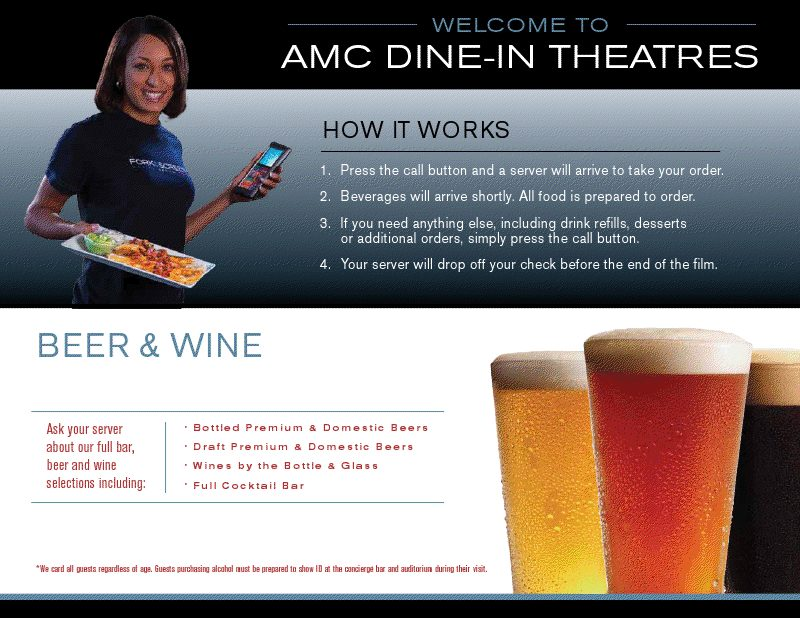 AMC Downtown Disney 24 Dine-in Theatre