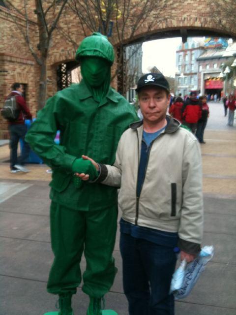 Teller at Disney's Hollywood Studios