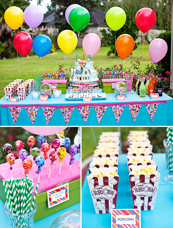 UP birthday party
