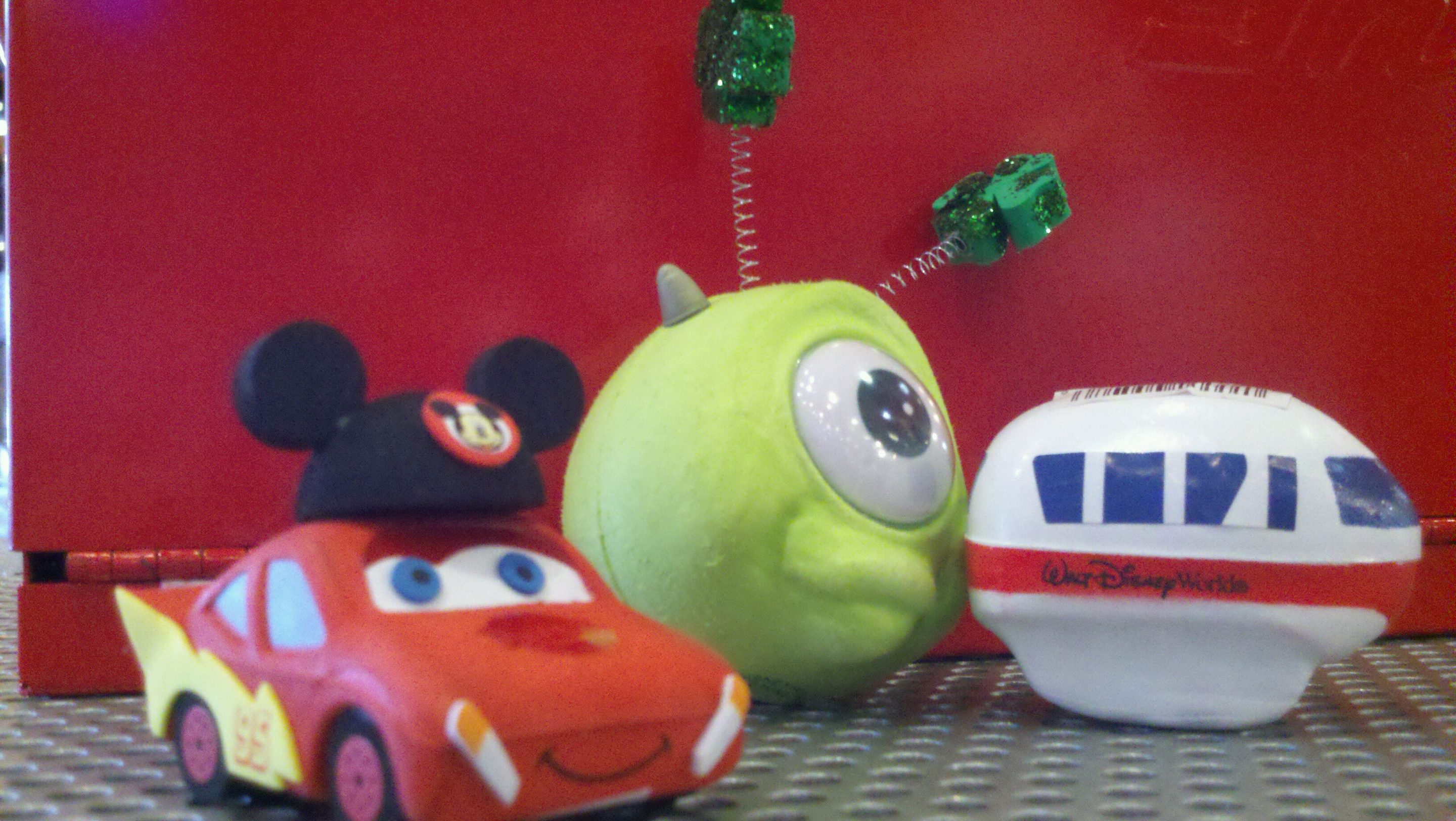 Disney Cars Monsters Inc Monorail antenna topper