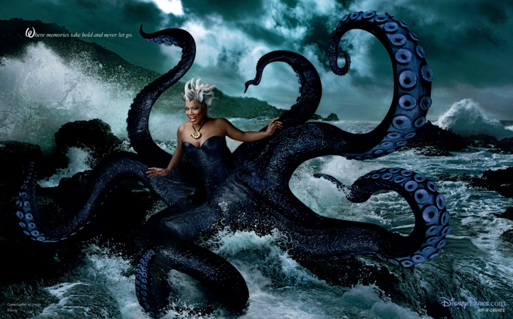 Queen Latifa Annie Leibovitz Disney Dream portrait