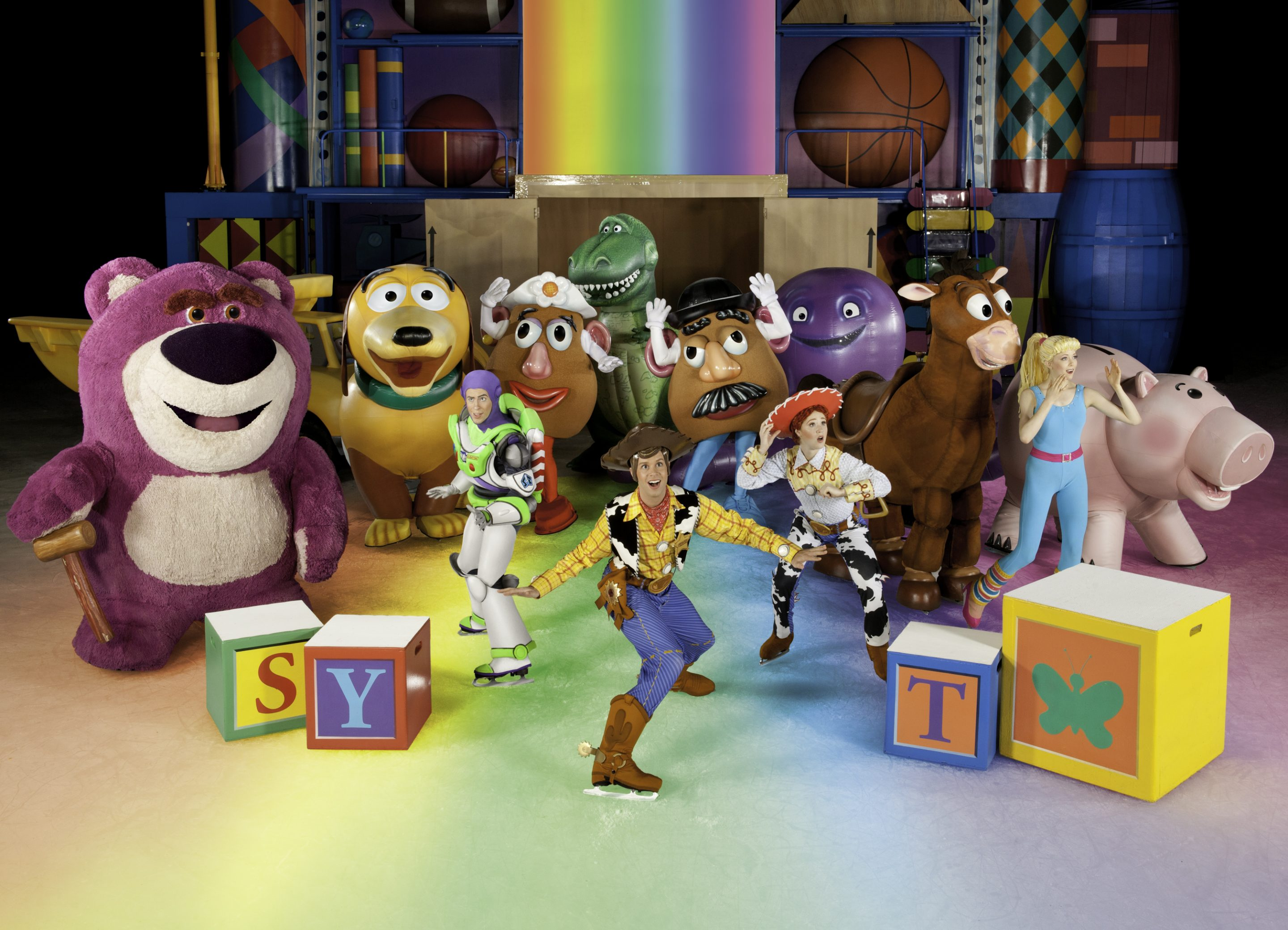 Disney Pixar S Toy Story 3 On Ice Coming To Tampa Zannaland