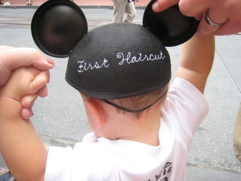 Harmony first cut neil mickey ears