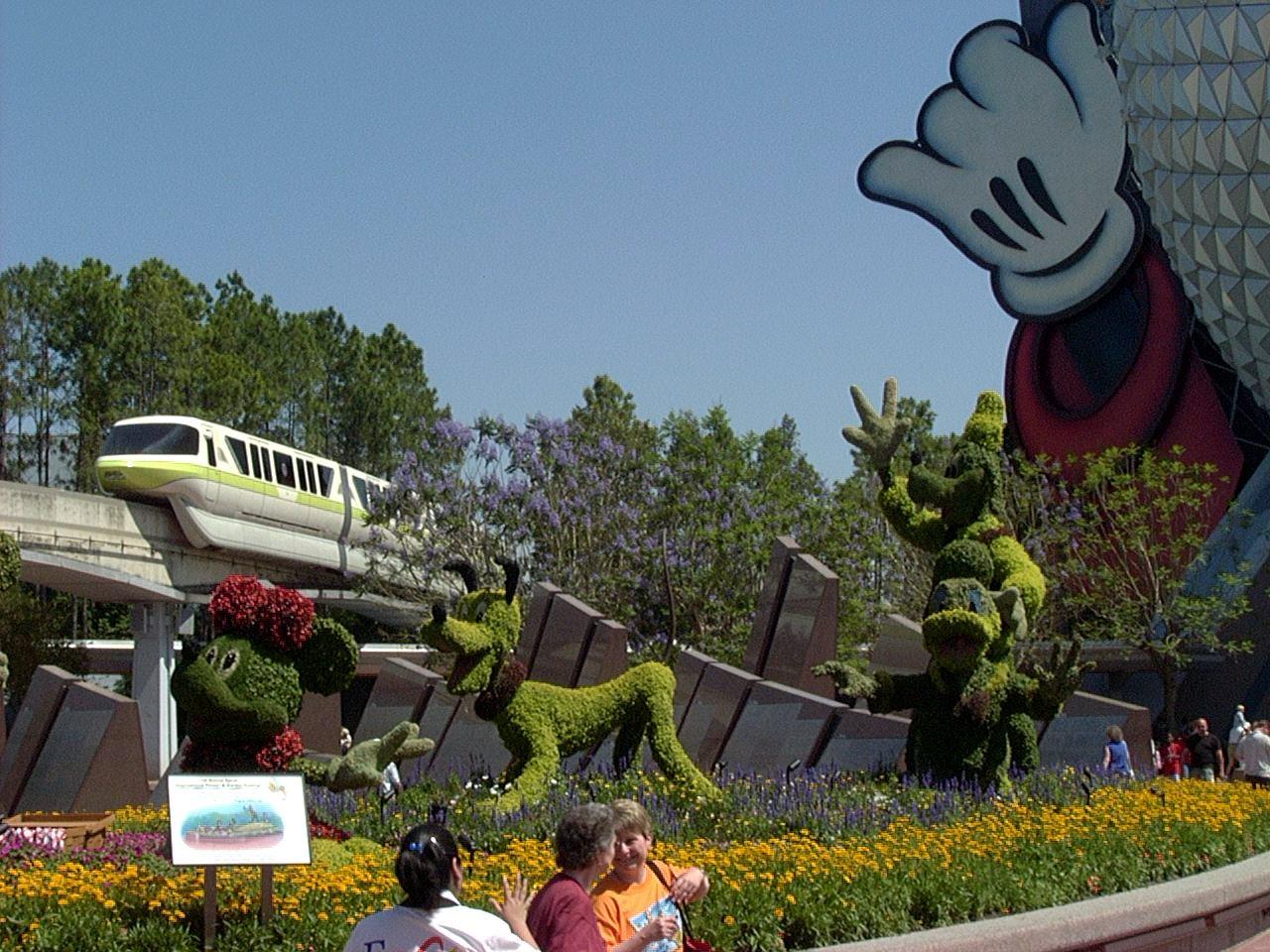 Jud's Disney Picture of the Day: FLOWER & GARDEN FESTIVAL 2004