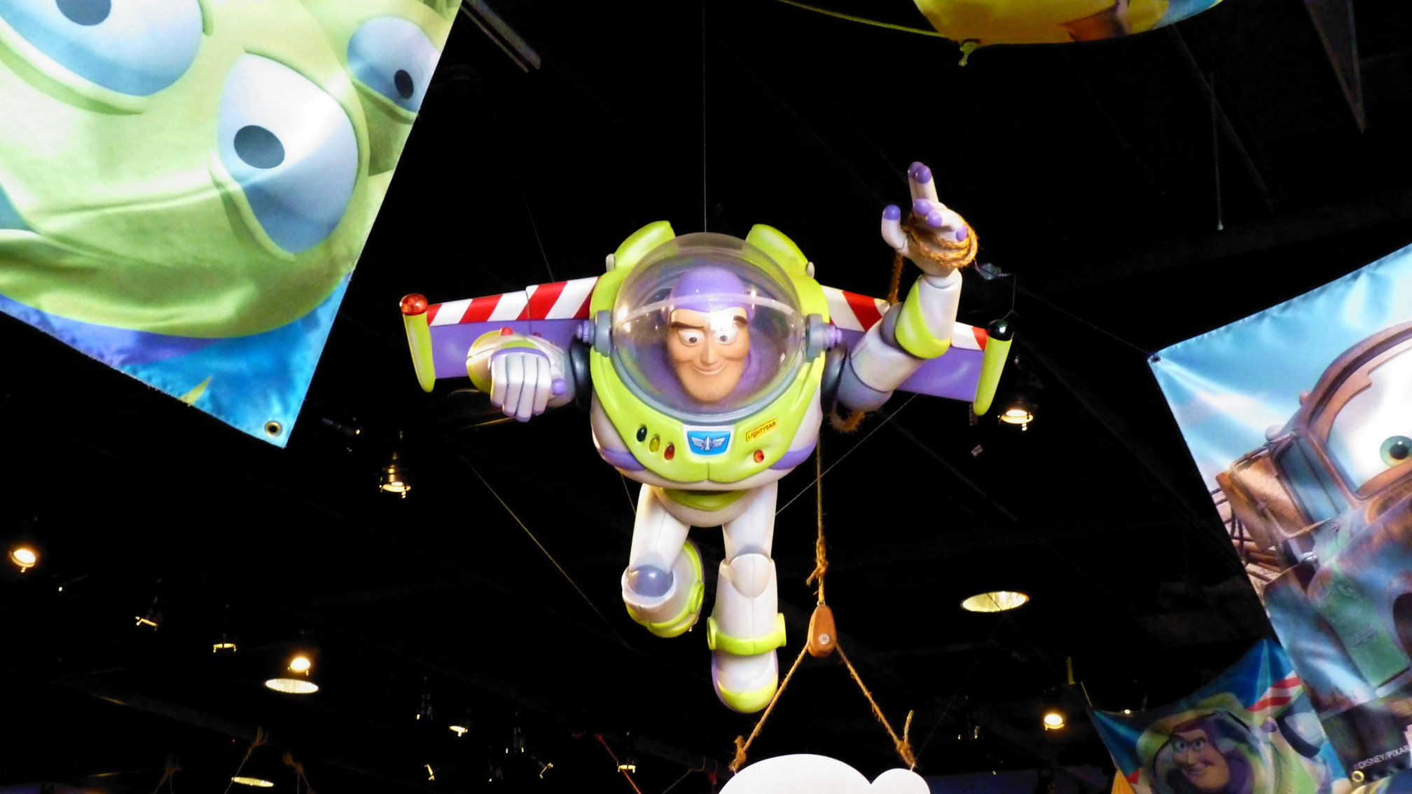 Jud's Disney Picture of the Day: FALLING WITH STYLE