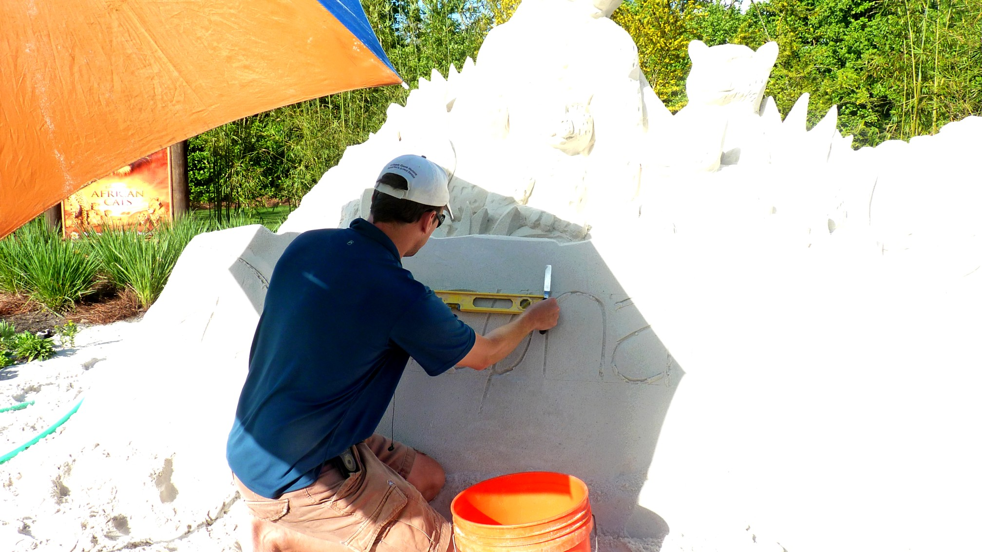 Jud's Disney Picture of the Day: CARVING SAND