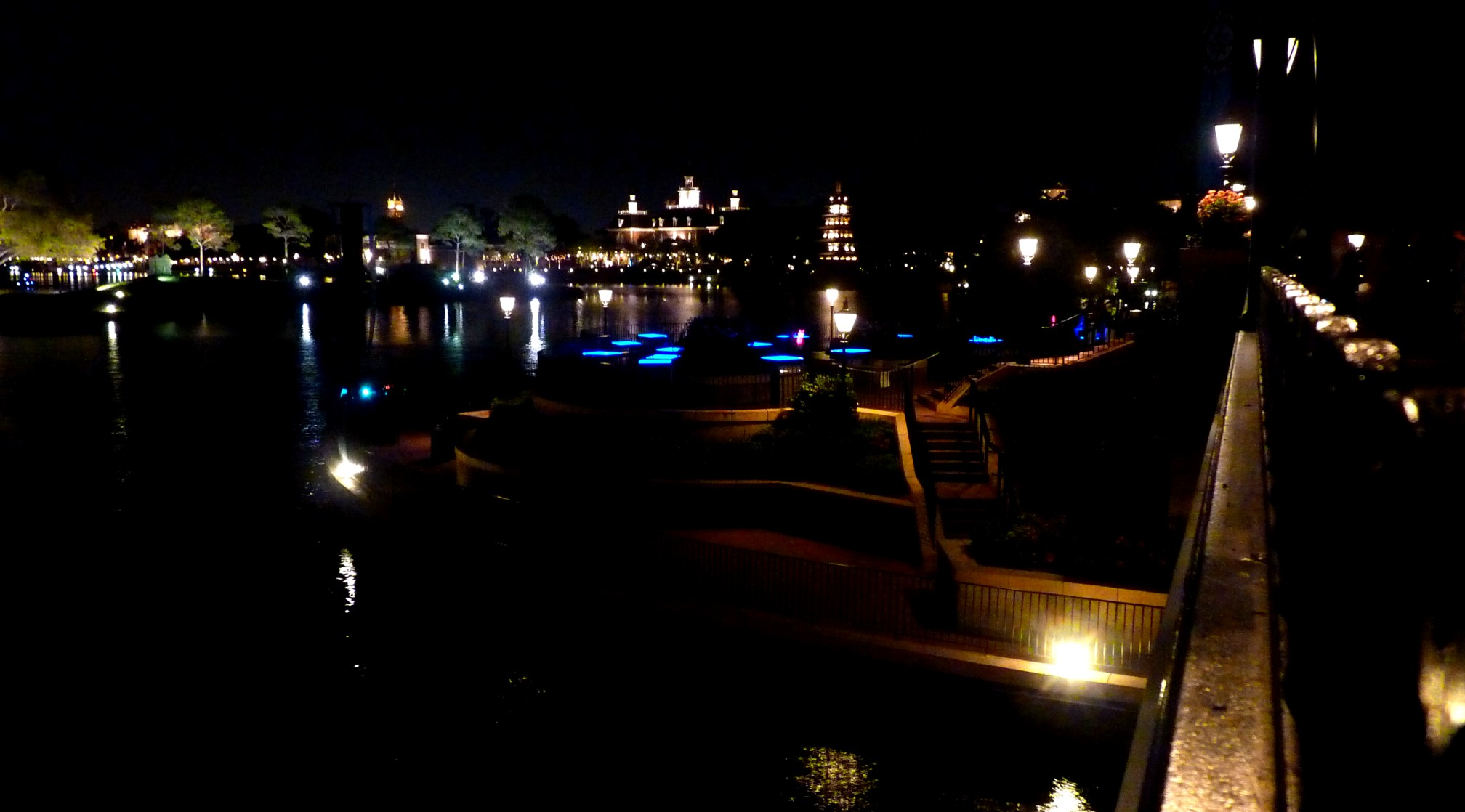 Jud's Disney Picture of the Day: EPCOT AFTER DARK