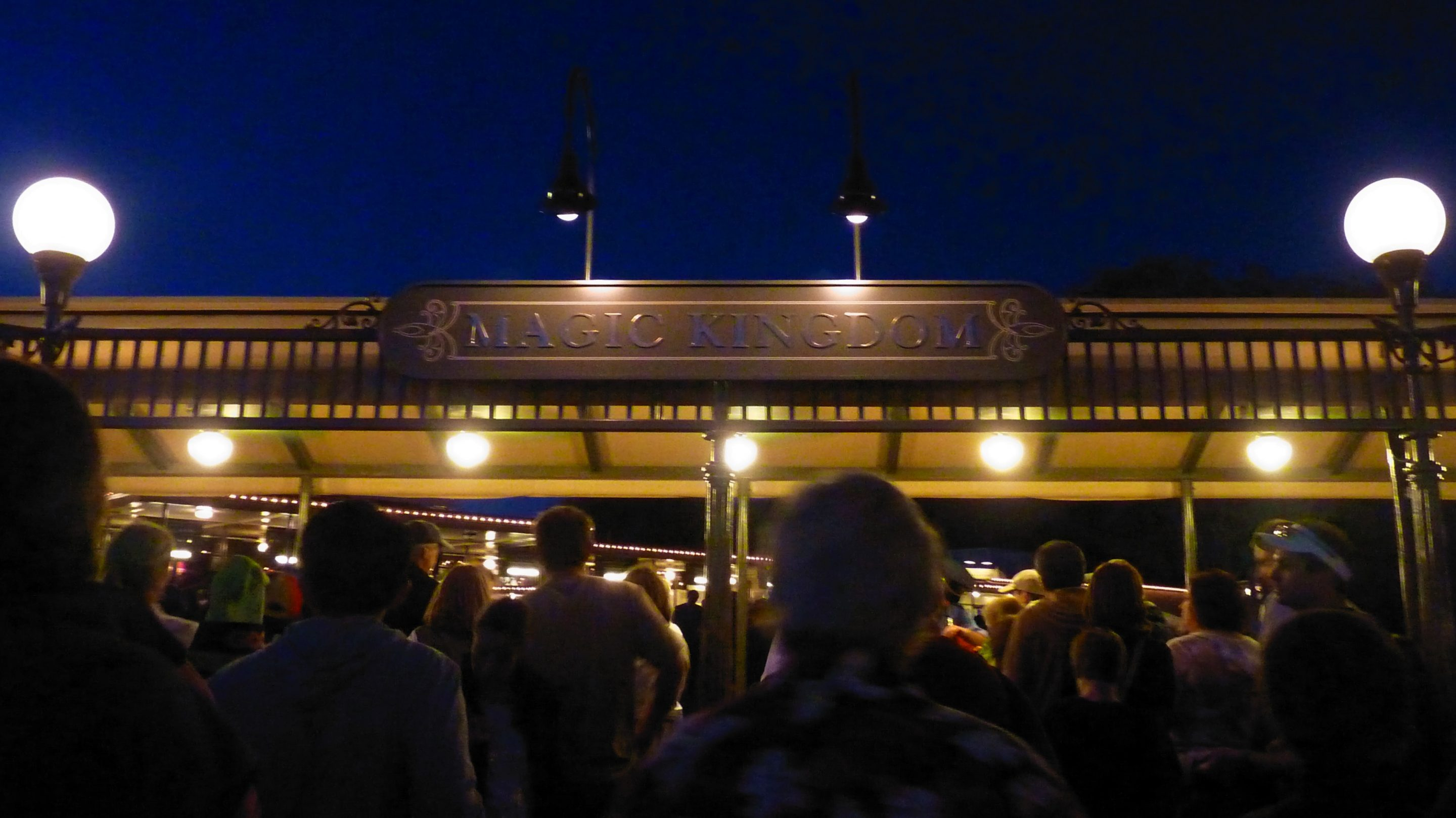Jud's Disney Picture of the Day: ENTRANCE AT NIGHT