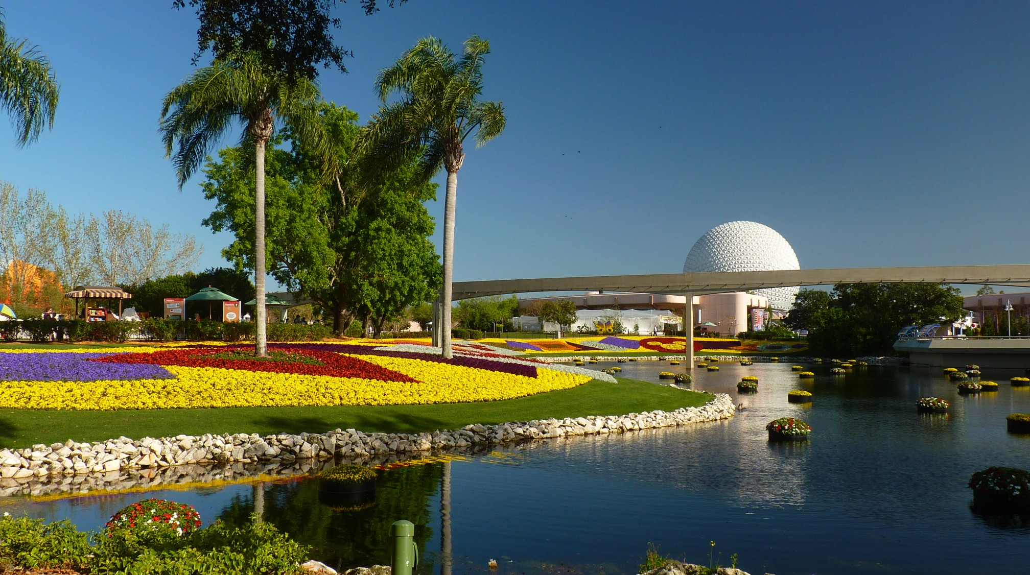 Jud's Disney Picture of the Day: FLOWER & GARDEN VIEW