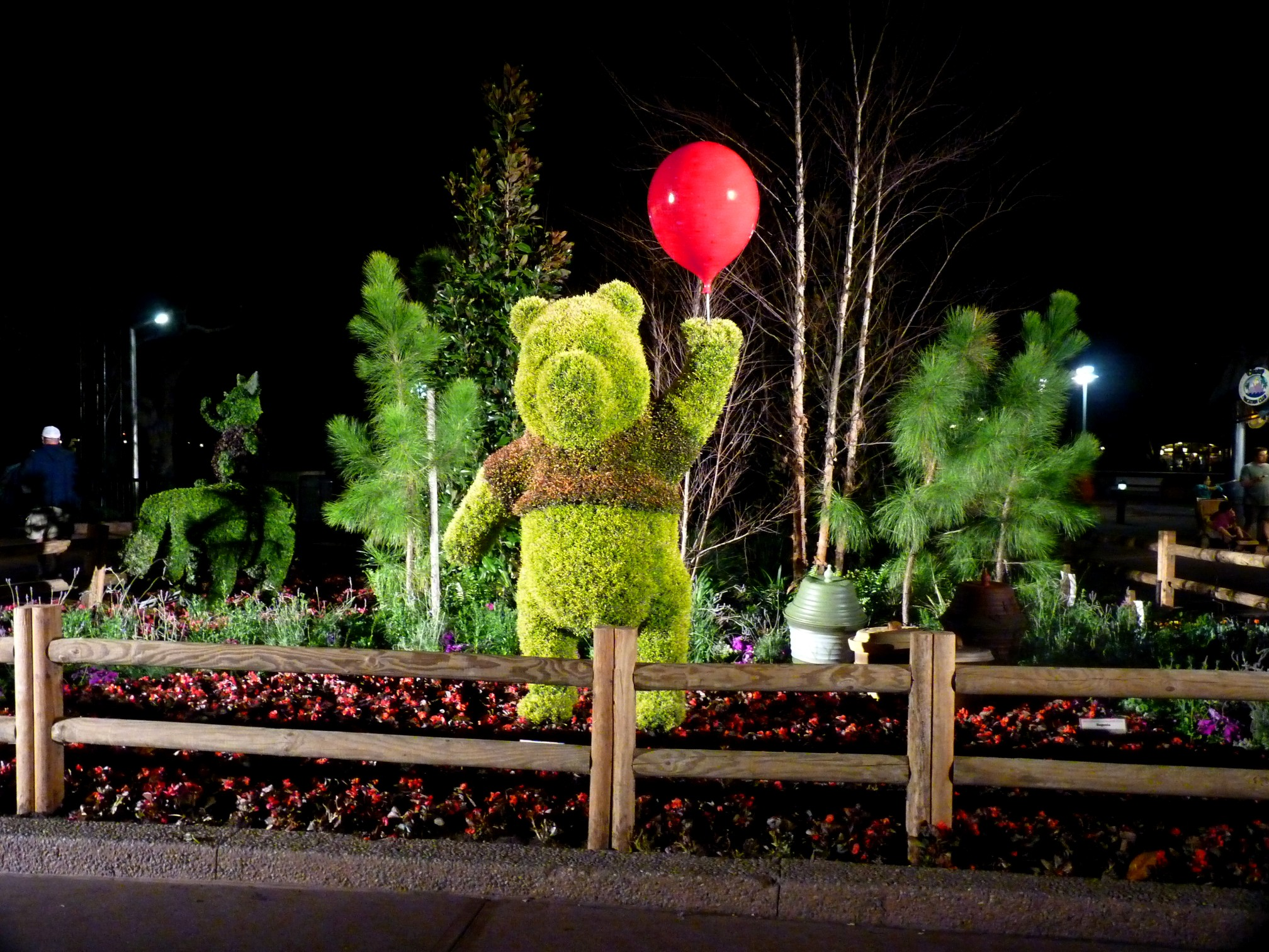 Jud's Disney Picture of the Day: POOH AT NIGHT