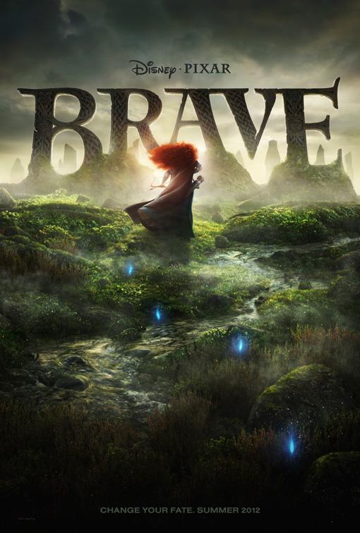 Disney Pixar's Brave Promo Poster