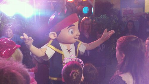 Jake Character From the Never Land Pirates Joins the Line Up at Disney's Hollywood Studios