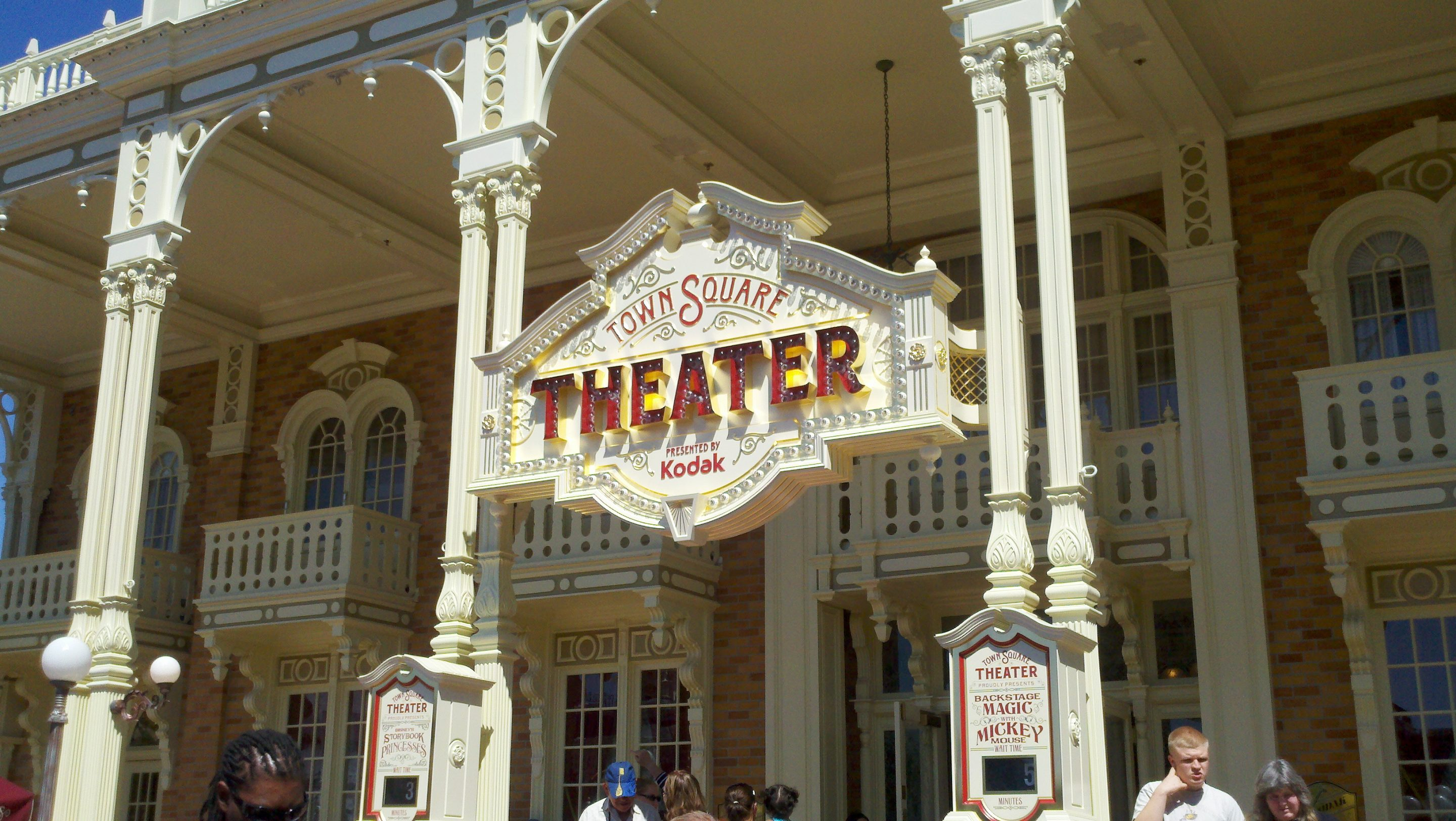 Mickey, Minnie and the Princesses Move in to Town Square Theater