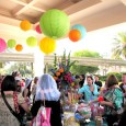 The Disney Social Media Moms Celebration kicked off at Disney's Wedding Pavilion, where attendees were treated to a Platinum Soiree welcome reception. Champagne flutes and a buffet of candy - not sure what could be much better than that.