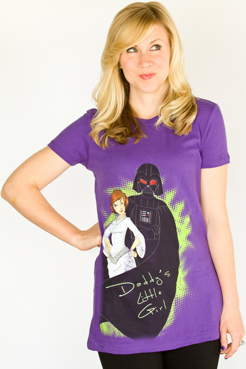 Ashley Eckstein Her Universe Daddy's Little Girl Tee