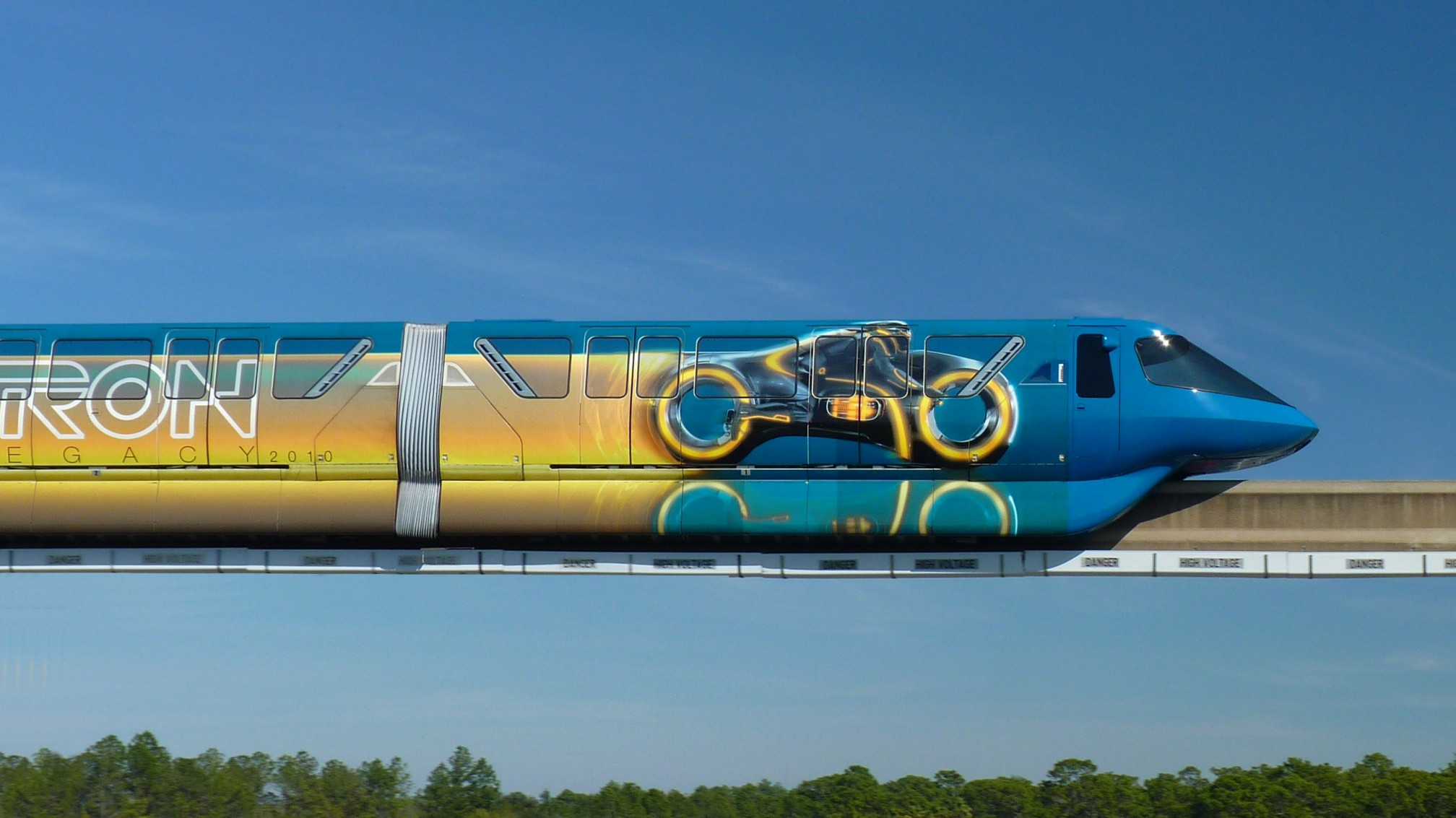 Jud's Disney Picture of the Day: TRON IN THE SKY AGAIN