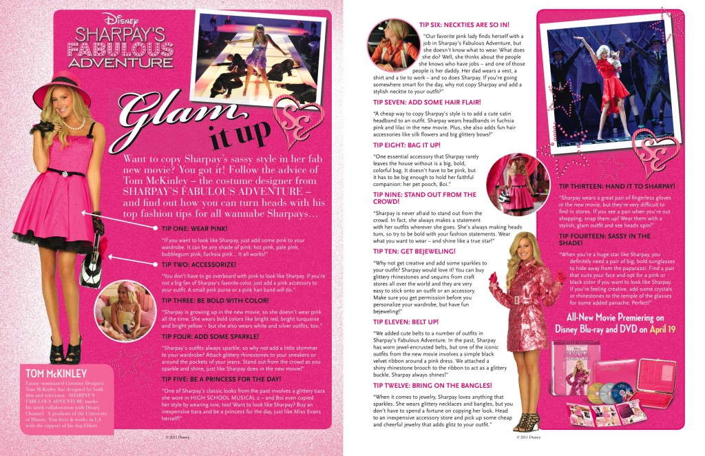 Sharpay Glam it Up