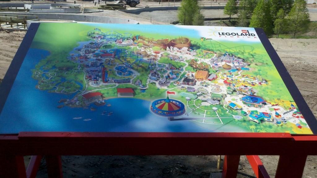 LEGOLAND Florida map