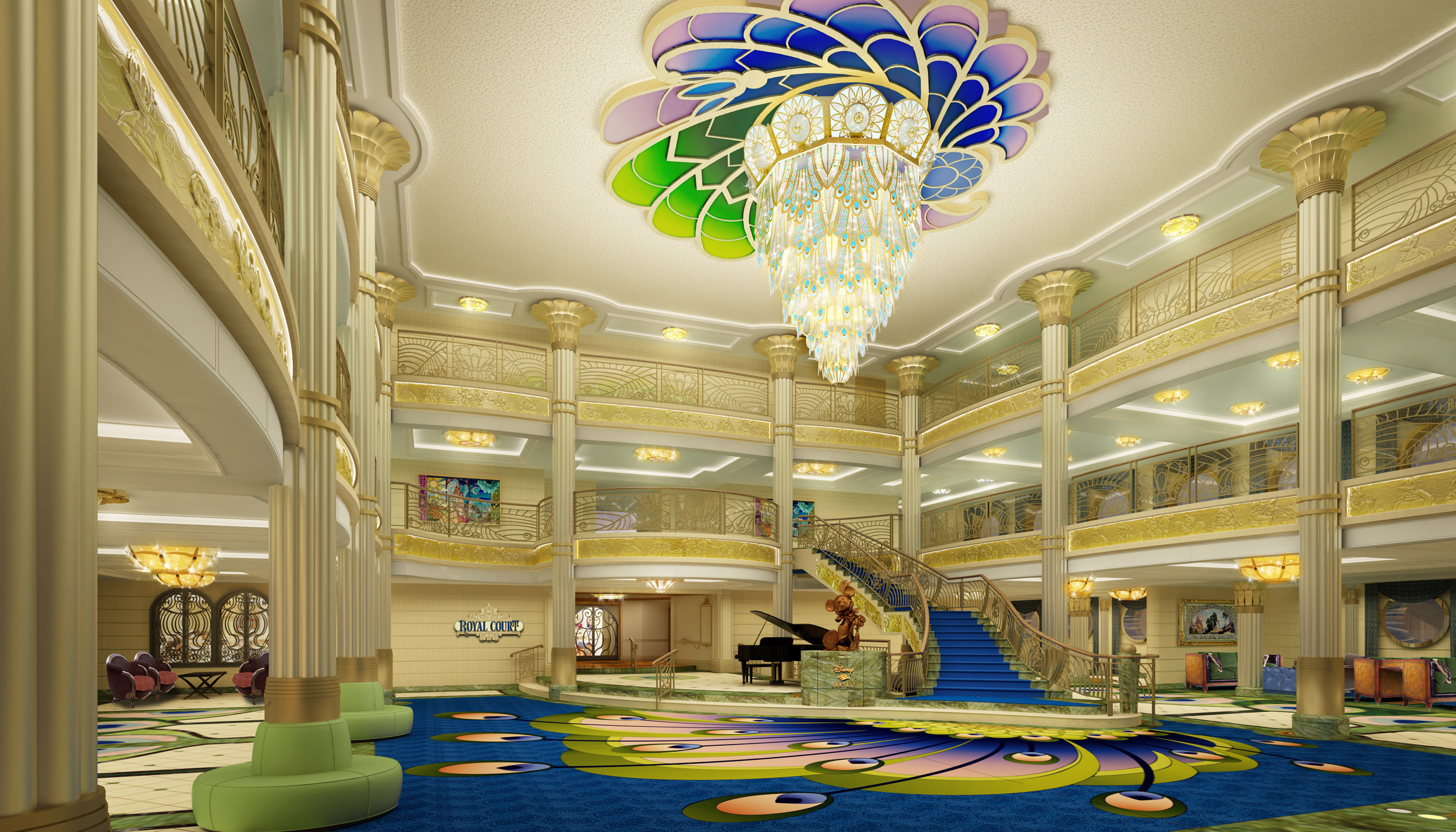Dcl S Disney Fantasy To Feature Mademoiselle Minnie And