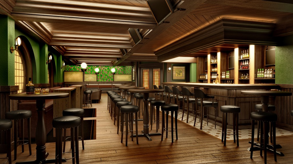 Europa - O'Gill's Pub on the Disney Fantasy