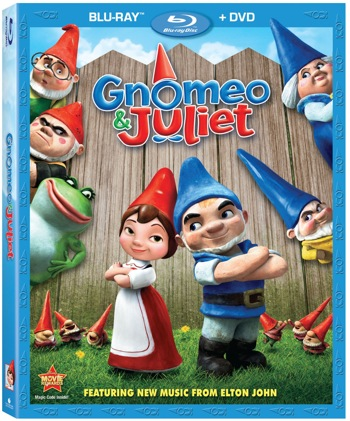 REVIEW: Gnomeo & Juliet on DVD+Blu-Ray-Surprisingly Good!