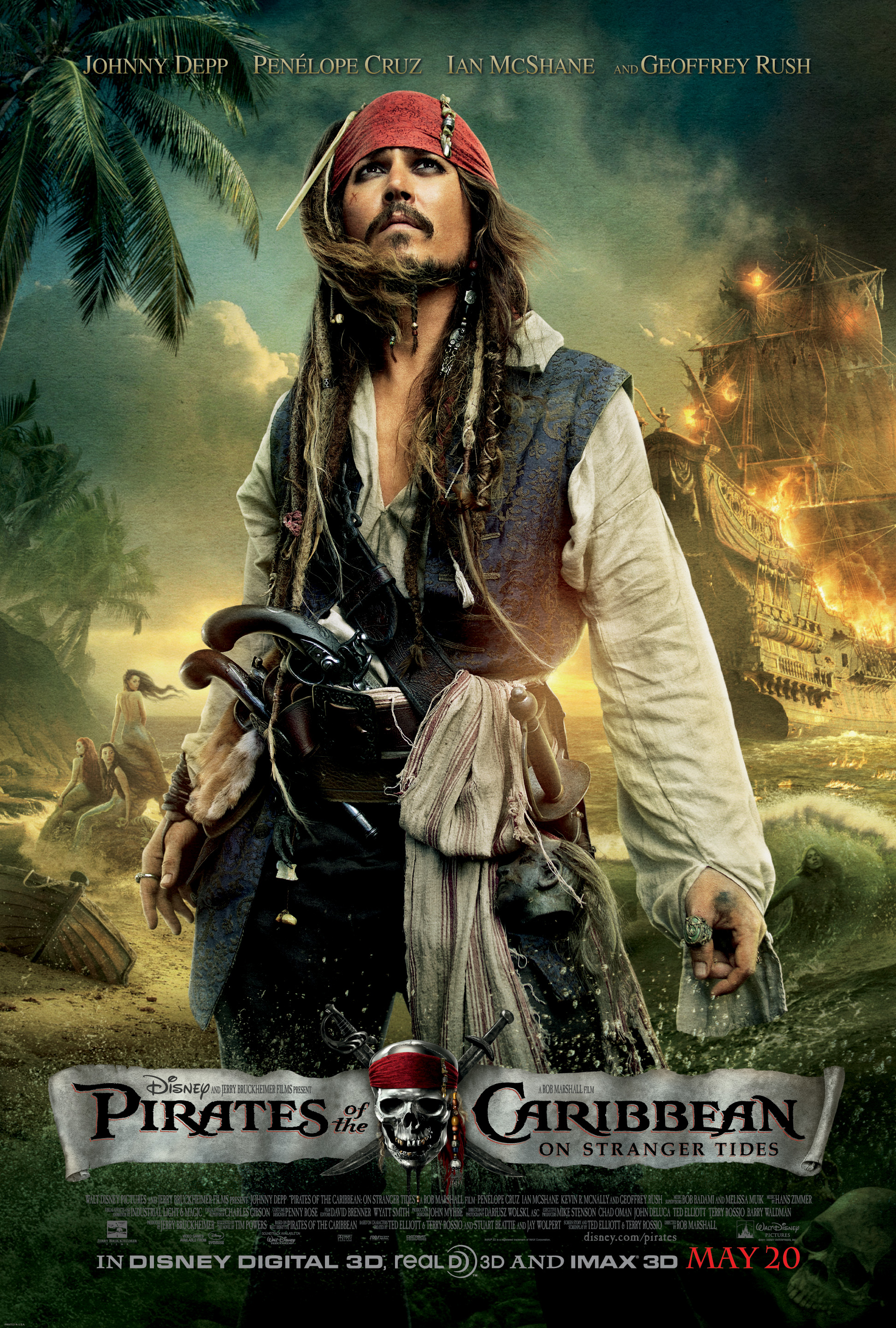 GIVEAWAY: Pirates of the Caribbean: On Stranger Tides Prize Pack