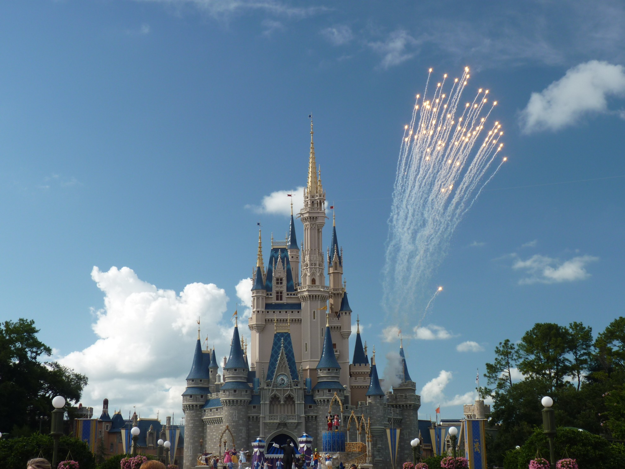 Disney World Castle In The Day