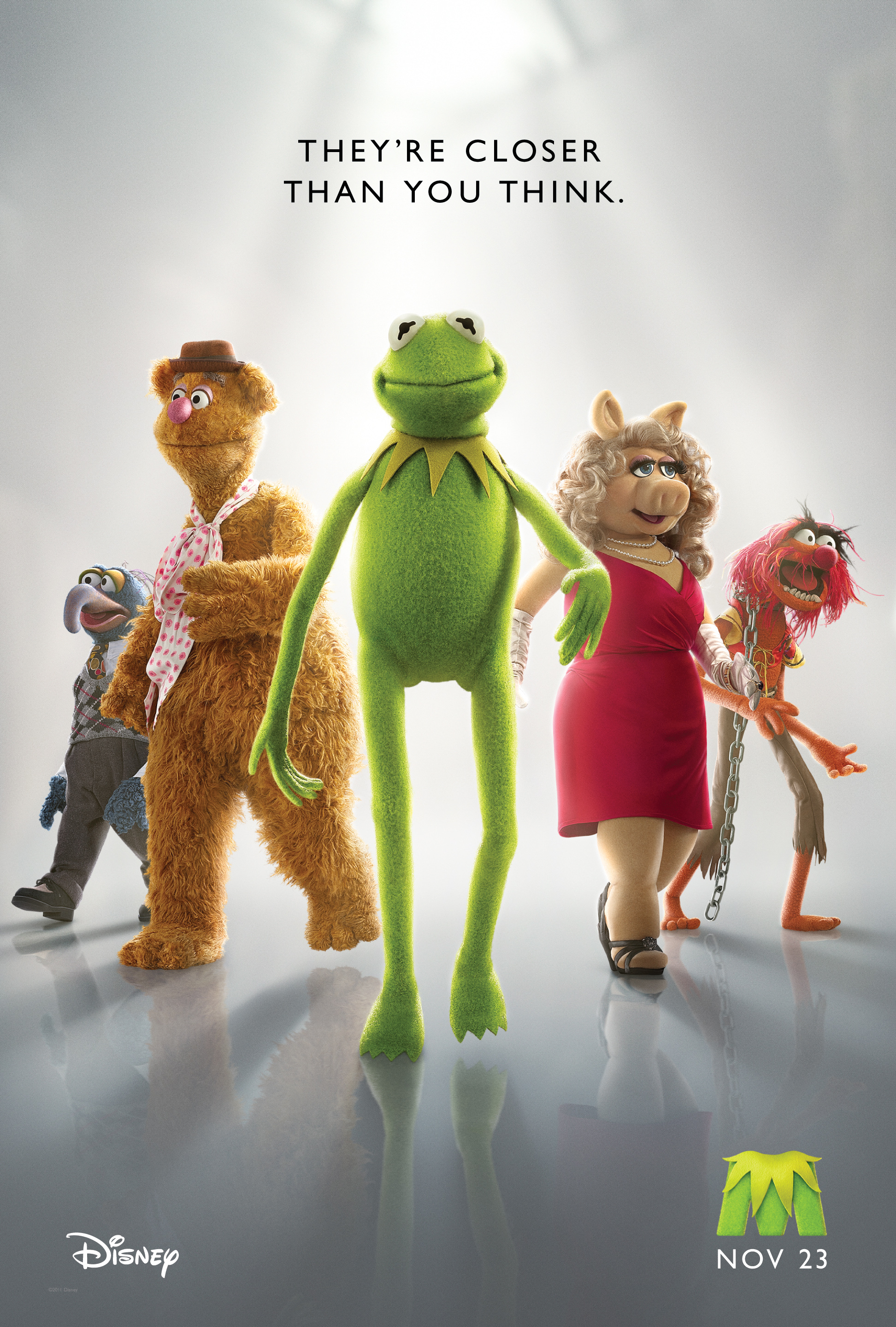 NEW Muppet Movie Teaser Poster AND Trailer!