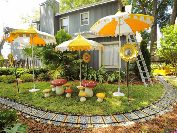My Yard Goes Disney