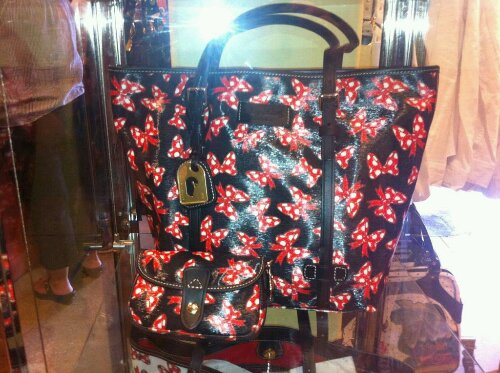 Minnie Mouse Bow Dooney & Bourke Bags