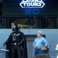 A few weeks ago I was treated to an amazing experience, which was a media preview of the all-new Star Tours 2 in 3-D -- Star Tours: The Adventures Continue.