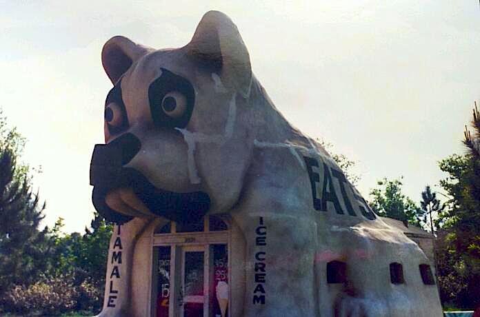 The Rocketeer's Bulldog Cafe