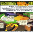 If there is a single item related to Dick Tracy that I have continually sought after it is a collection of Crimestopper game pieces tied to the 1990 release. The two stage scratch-offs were from McDonald's and included a multiple choice scene and a mug shot.