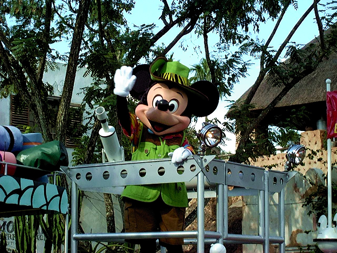 Jud's Disney Picture of the Day: Jungle Jammin' Mickey!