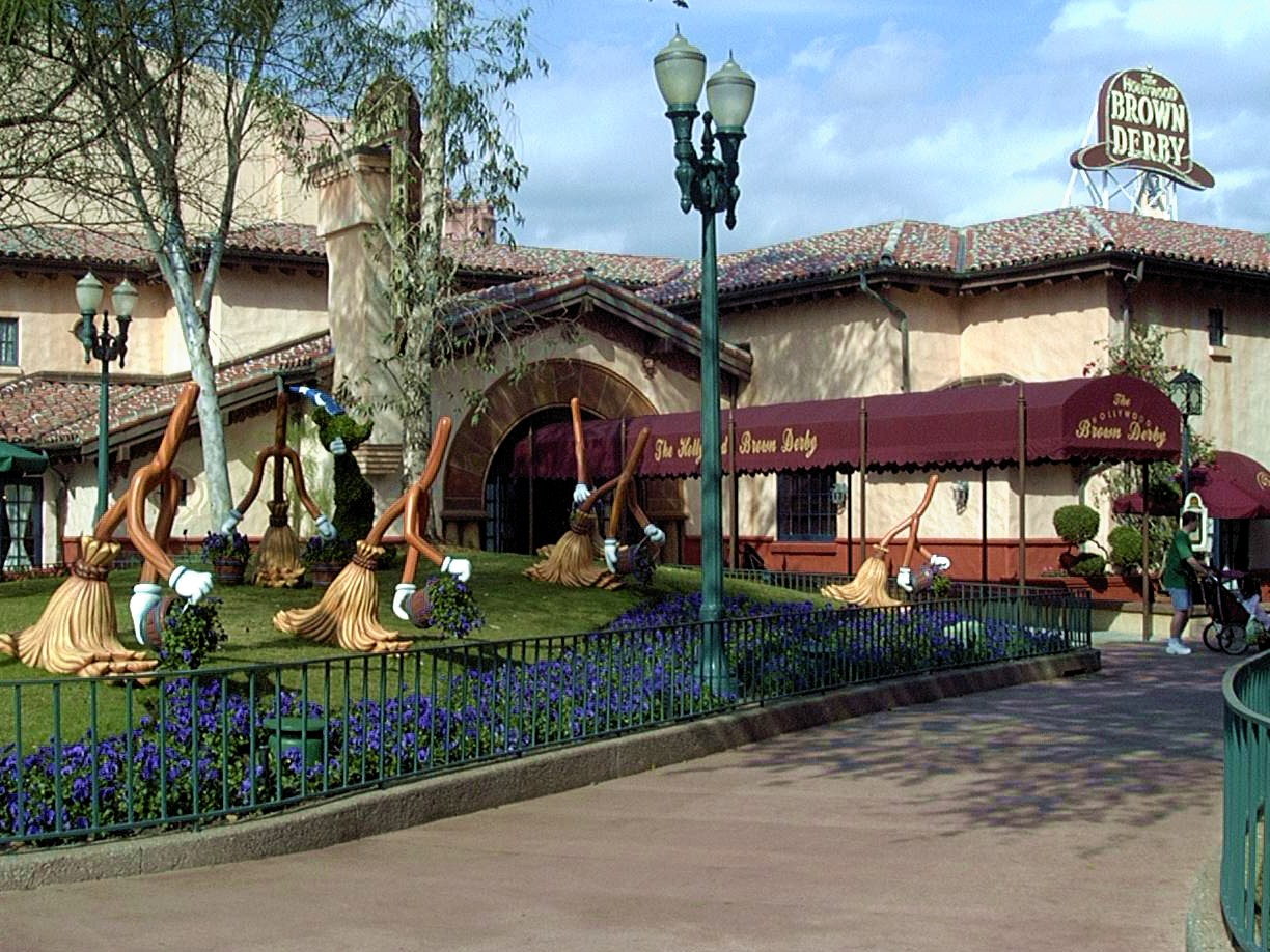 Jud's Disney Picture of the Day: The Brown Derby