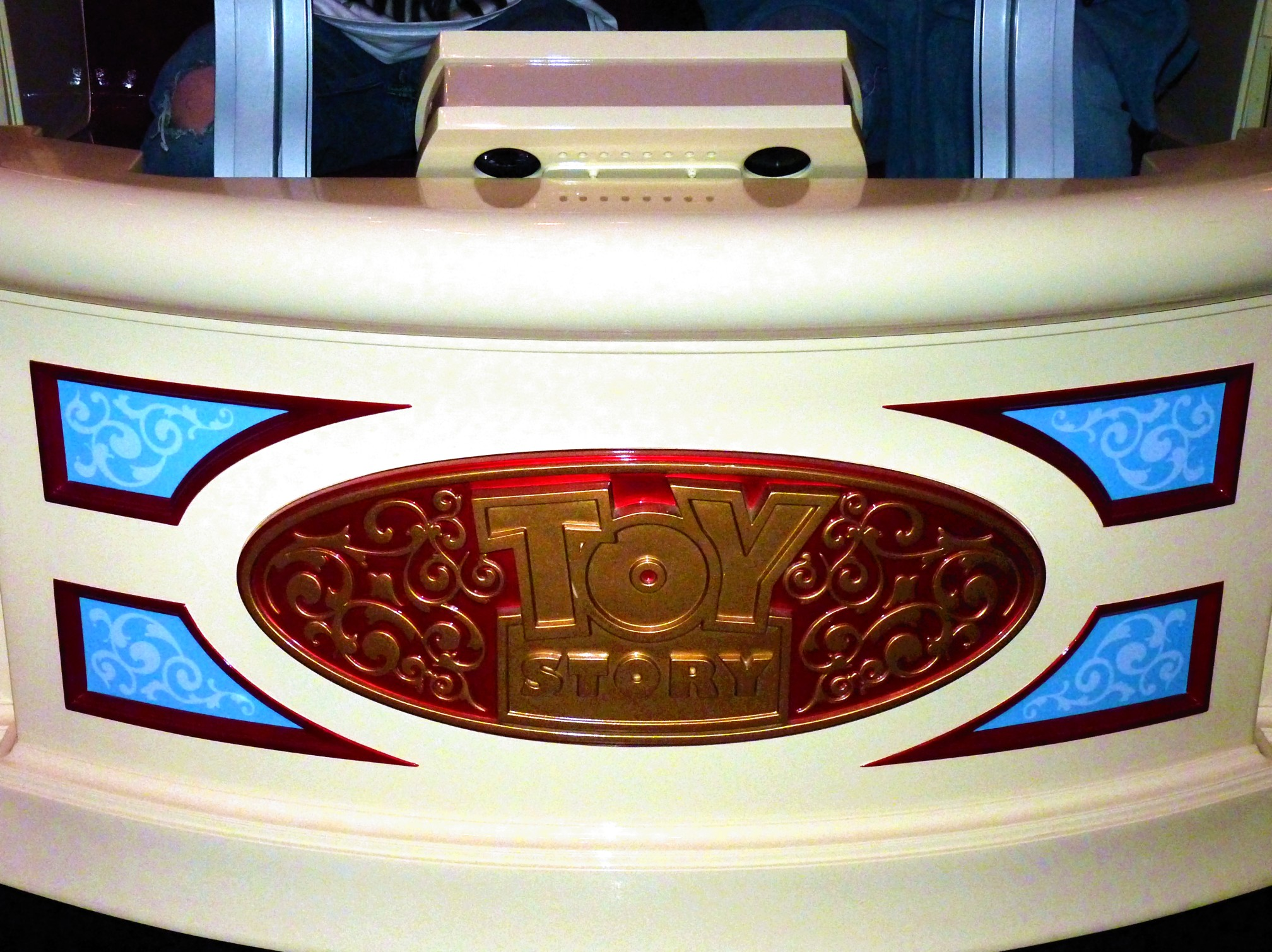 Jud's Disney Picture of the Day: Toy Story Mania Ride Logo