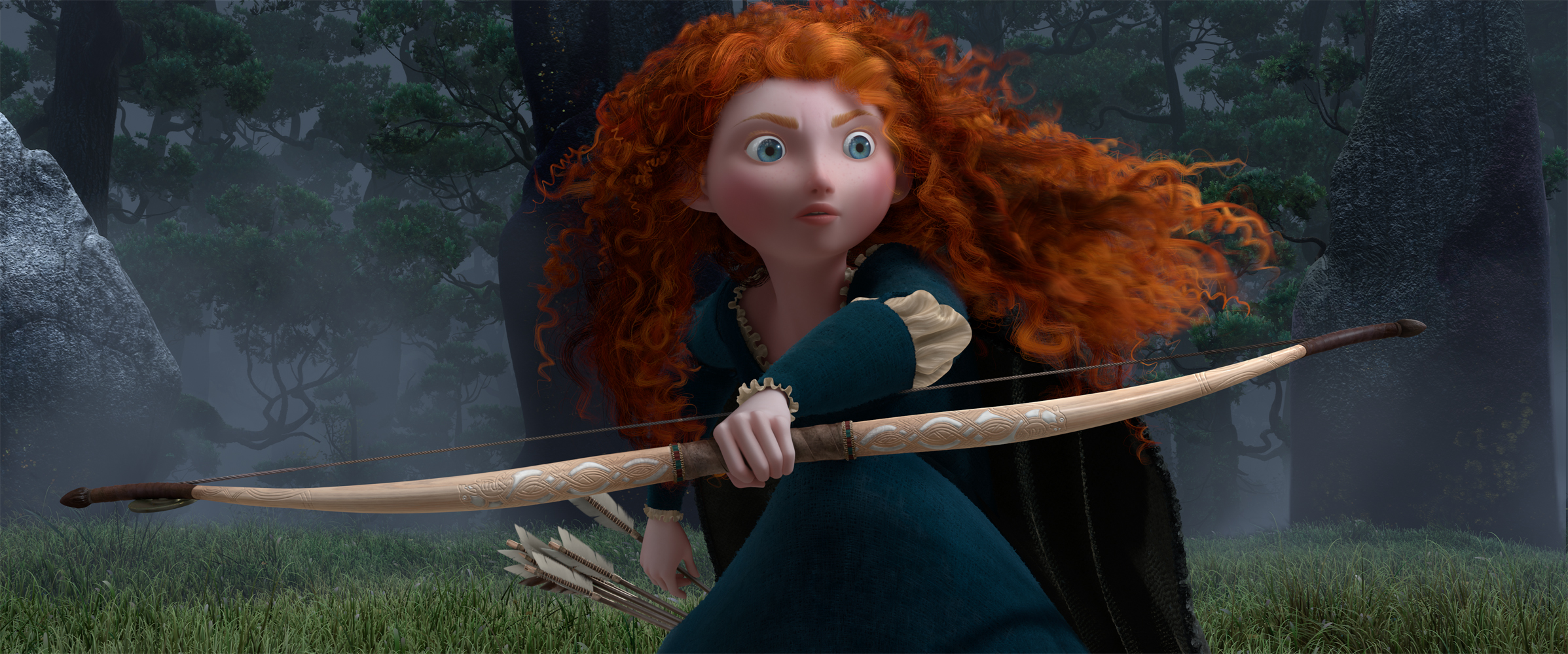 Official BRAVE Trailer Out Today from DisneyPixar