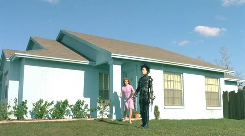 Edward Scissorhands house in Lutz