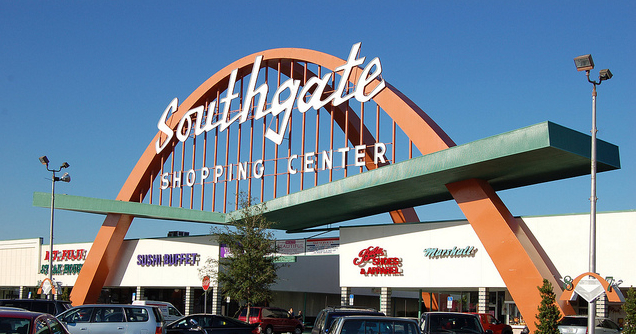 Southgate Shopping Center Edward Scissorhands